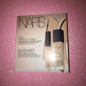 NEW Nars Radiant Foundation And Creamy Concealer